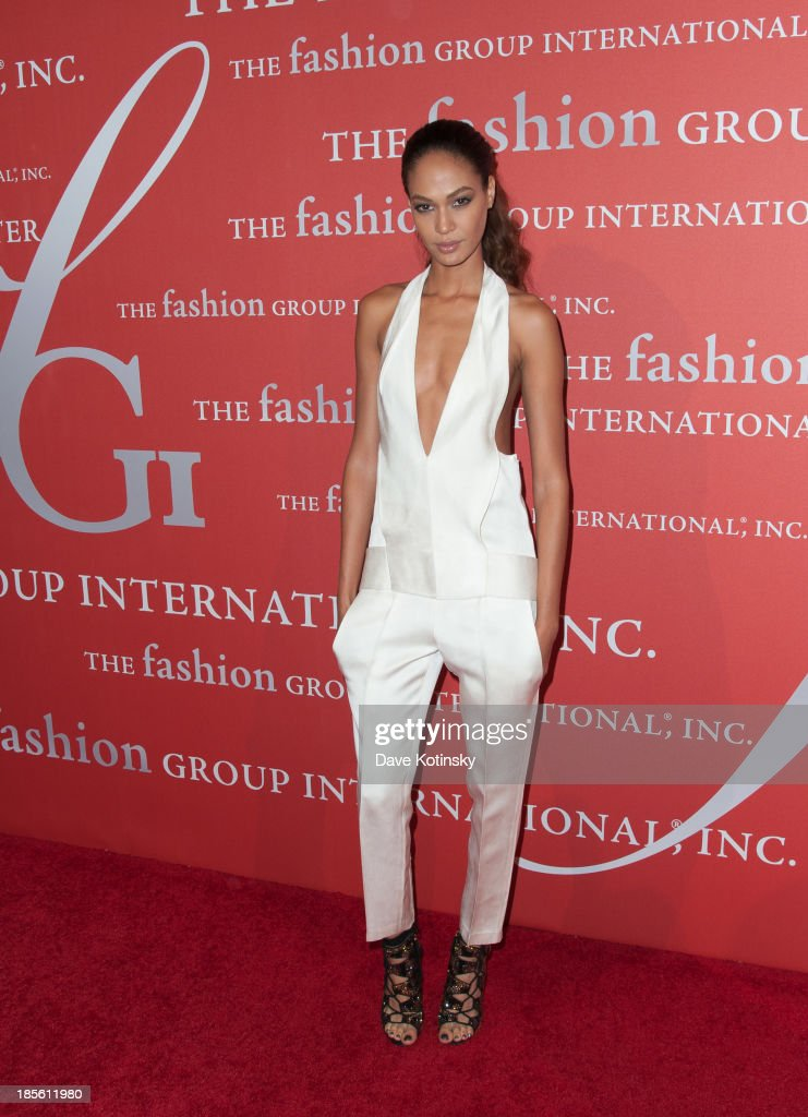 Model <a gi-track='captionPersonalityLinkClicked' href=/galleries/search?phrase=Joan+Smalls&family=editorial&specificpeople=5714628 ng-click='$event.stopPropagation()'>Joan Smalls</a> attends the 30th Annual Night Of Stars presented by The Fashion Group International at Cipriani Wall Street on October 22, 2013 in New York City.