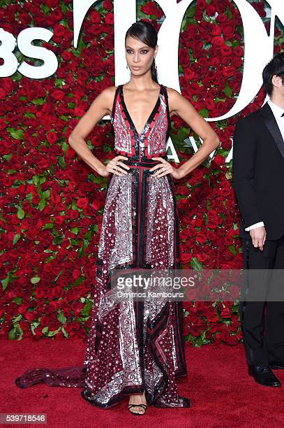 Model Joan Smalls attends the 70th Annual Tony Awards at The Beacon Theatre on June 12 2016 in New York City