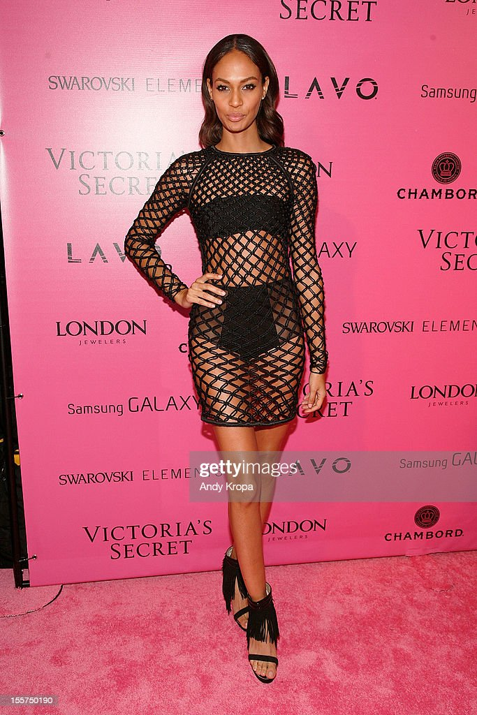 Model Joan Smalls attends the after party for the 2012 Victoria's Secret Fashion Show at Lavo NYC on November 7, 2012 in New York City.