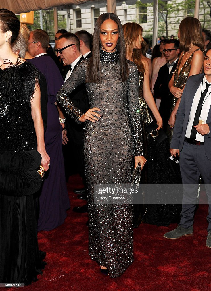 Model Joan Smalls attends the 'Alexander McQueen: Savage Beauty' Costume Institute Gala at The Metropolitan Museum of Art on May 2, 2011 in New York City.