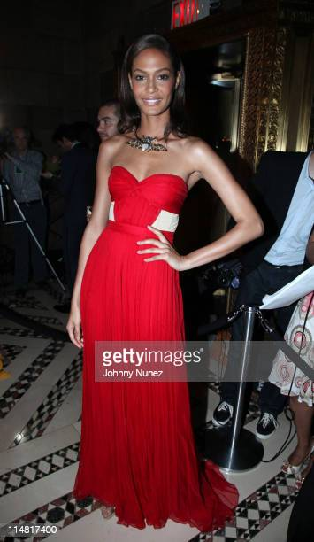 Model Joan Smalls attends the El Museo Del Barrio Gala at Cipriani 42nd Street on May 26 2011 in New York City