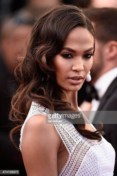 Model Joan Smalls attends the Premiere of 'Youth' during the 68th annual Cannes Film Festival on May 20 2015 in Cannes France