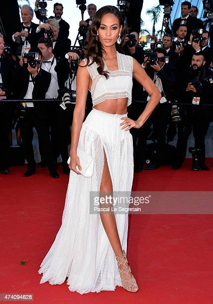 Model Joan Smalls attends the 'Youth' Premiere during the 68th annual Cannes Film Festival on May 20 2015 in Cannes France