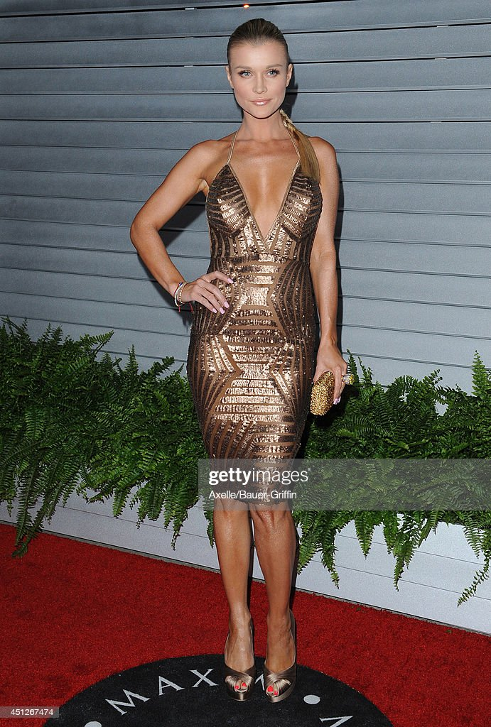 Model <a gi-track='captionPersonalityLinkClicked' href=/galleries/search?phrase=Joanna+Krupa&family=editorial&specificpeople=224038 ng-click='$event.stopPropagation()'>Joanna Krupa</a> arrives at the MAXIM Hot 100 Celebration Event at Pacific Design Center on June 10, 2014 in West Hollywood, California.
