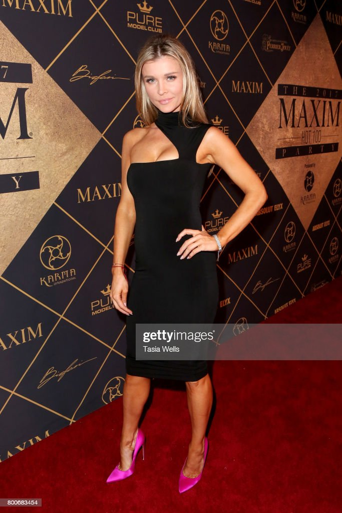 Model Joanna Krupa attends the 2017 MAXIM Hot 100 Party at Hollywood Palladium on June 24, 2017 in Los Angeles, California.