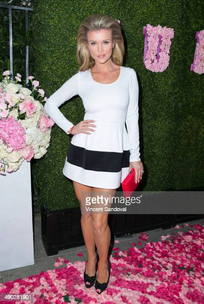 Model Joanna Krupa attends the grand opening of 'Pump' Lounge hosted by Lisa Vanderpump and Ken Todd on May 13 2014 in West Hollywood California