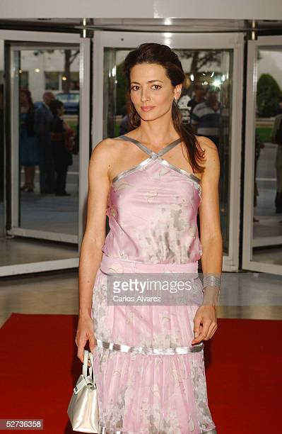 Model Jose Toledo attends the Spain TV Academy Awards on April 29 2005 in Madrid Spain
