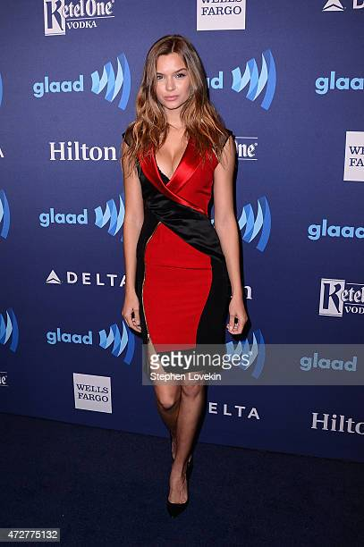 Model Josephine Skriver attends the 26th Annual GLAAD Media Awards In New York on May 9 2015 in New York City