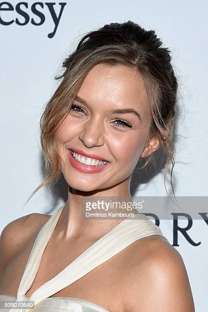Model Josephine Skriver attends the 7th Annual amfAR Inspiration Gala New York at Skylight at Moynihan Station on June 9 2016 in New York City