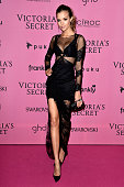 Model Josephine Skriver attends the after party for the annual Victoria's Secret fashion show at Earls Court on December 2 2014 in London England