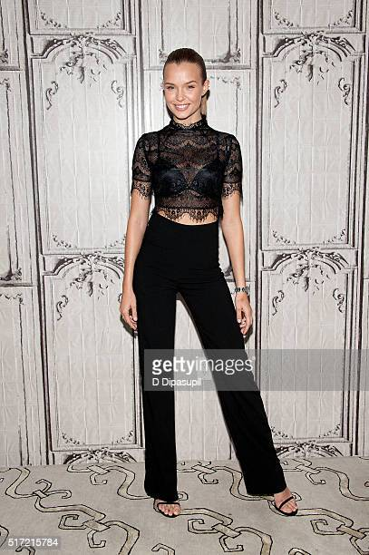 Model Josephine Skriver attends the AOL Build Speaker Series to reveal the Victoria's Secret '2016 What is Sexy List' at AOL Studios In New York on...