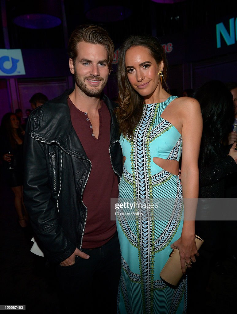 Model Josh Slack (L) and actress <a gi-track='captionPersonalityLinkClicked' href=/galleries/search?phrase=Louise+Roe&family=editorial&specificpeople=4300958 ng-click='$event.stopPropagation()'>Louise Roe</a> attend the Rolling Stone Magazine Official 2012 American Music Awards VIP after party presented by Nokia and Rdio at Rolling Stone Restaurant And Lounge on November 18, 2012 in Los Angeles, California.