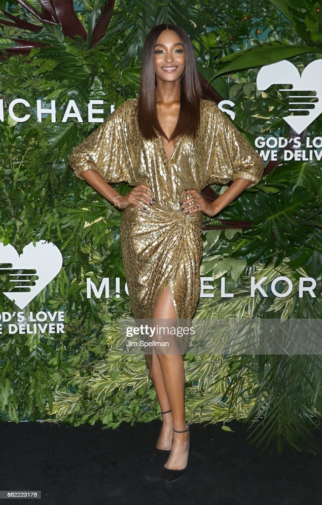Model Jourdan Dunn attends the 11th Annual God's Love We Deliver Golden Heart Awards at Spring Studios on October 16, 2017 in New York City.