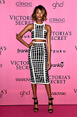 Model Jourdan Dunn attends the after party for the annual Victoria's Secret fashion show at Earls Court on December 2 2014 in London England