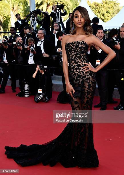 Model Jourdan Dunn attends the 'Little Prince' Premiere during the 68th annual Cannes Film Festival on May 22 2015 in Cannes France