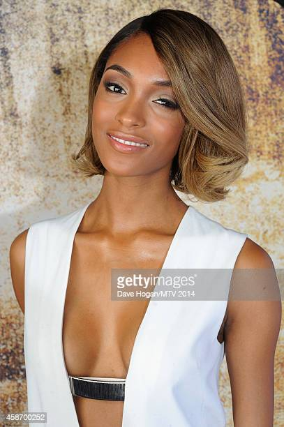 Model Jourdan Dunn attends the MTV EMA's 2014 at The Hydro on November 9 2014 in Glasgow Scotland