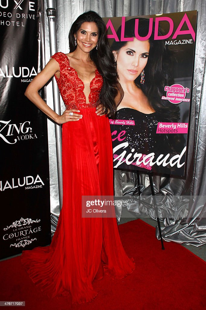 Naluda Magazine March Issue Launch Party With Cover Girl Joyce Giraud
