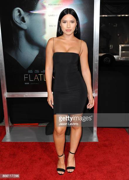 Model Julia Kelly attends the premiere of 'Flatliners' at The Theatre at Ace Hotel on September 27 2017 in Los Angeles California