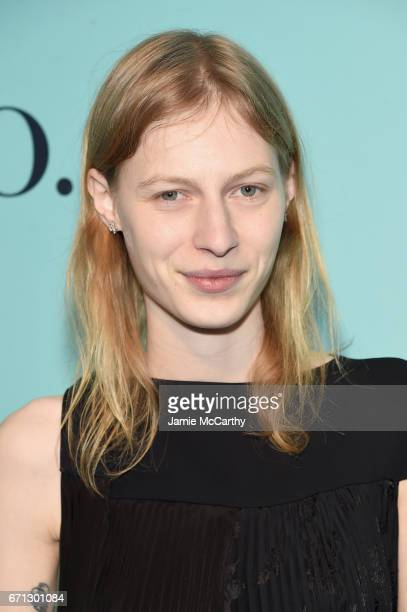 Model Julia Nobis attends the Tiffany Co 2017 Blue Book Collection Gala at ST Ann's Warehouse on April 21 2017 in New York City