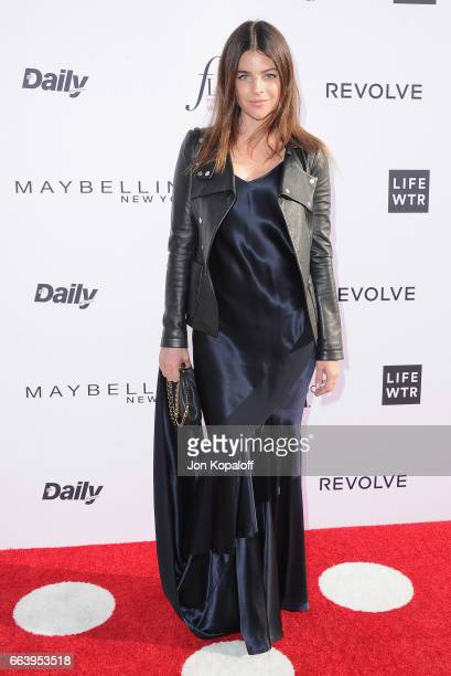 Model Julia Restoin Roitfeld arrives at the Daily Front Row's 3rd Annual Fashion Los Angeles Awards at the Sunset Tower Hotel on April 2 2017 in West...