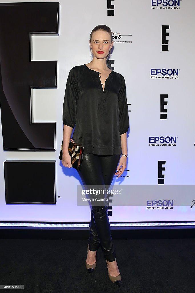 Epson Digital Couture - Presentation - Mercedes-Benz Fashion Week Fall 2015