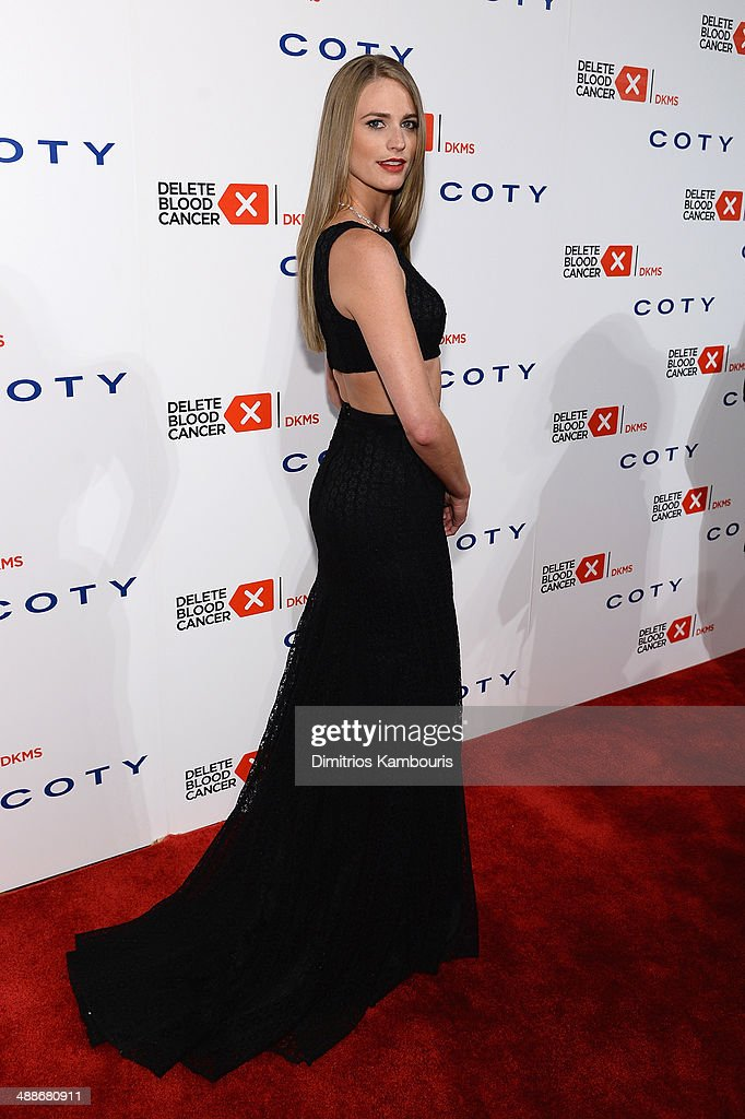 Model Julie Henderson attends the 2014 Delete Blood Cancer Gala Honoring Evan Sohn and the Sohn Conference Foundation at Cipriani Wall Street on May 7, 2014 in New York City.