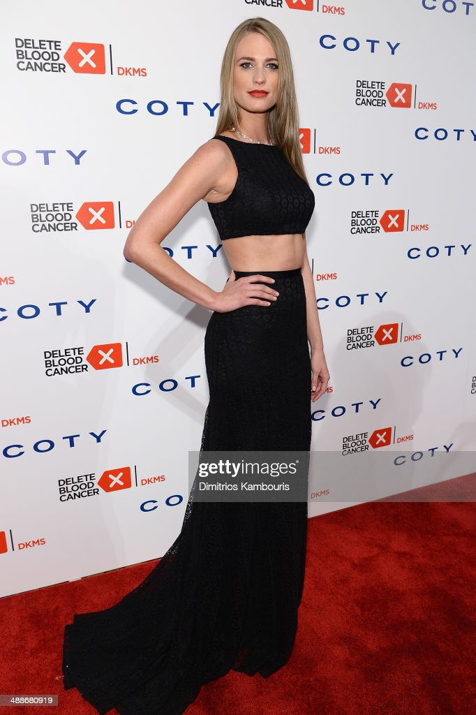 Model <a gi-track='captionPersonalityLinkClicked' href=/galleries/search?phrase=Julie+Henderson&family=editorial&specificpeople=4154524 ng-click='$event.stopPropagation()'>Julie Henderson</a> attends the 2014 Delete Blood Cancer Gala Honoring Evan Sohn and the Sohn Conference Foundation at Cipriani Wall Street on May 7, 2014 in New York City.