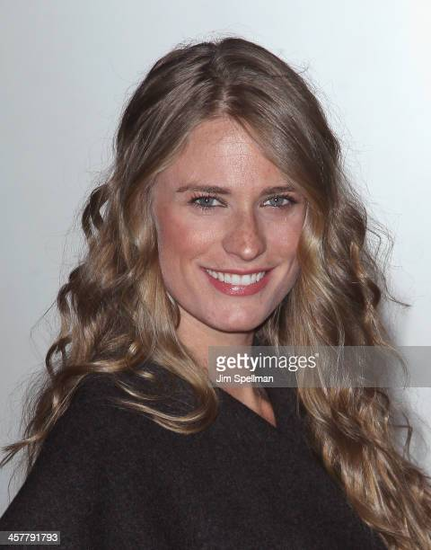 Model Julie Henderson attends the 20th Century Fox With The Cinema Society Brooks Brothers screening of 'The Secret Life Of Walter Mitty' at Museum...