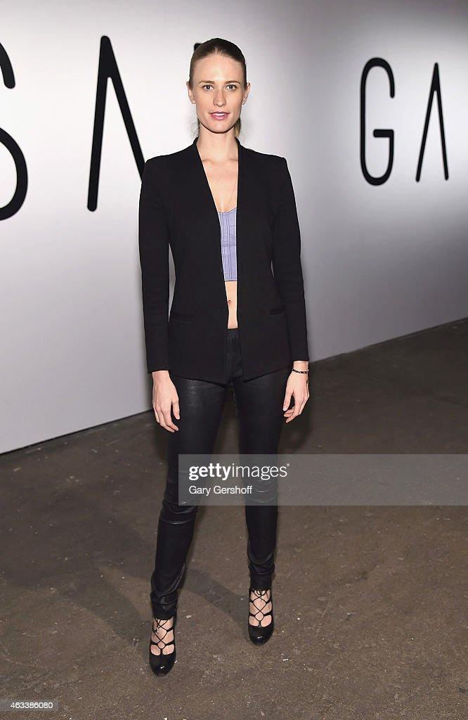 Asaf Ganot - Front Row & Backstage - Mercedes-Benz Fashion Week Fall 2015