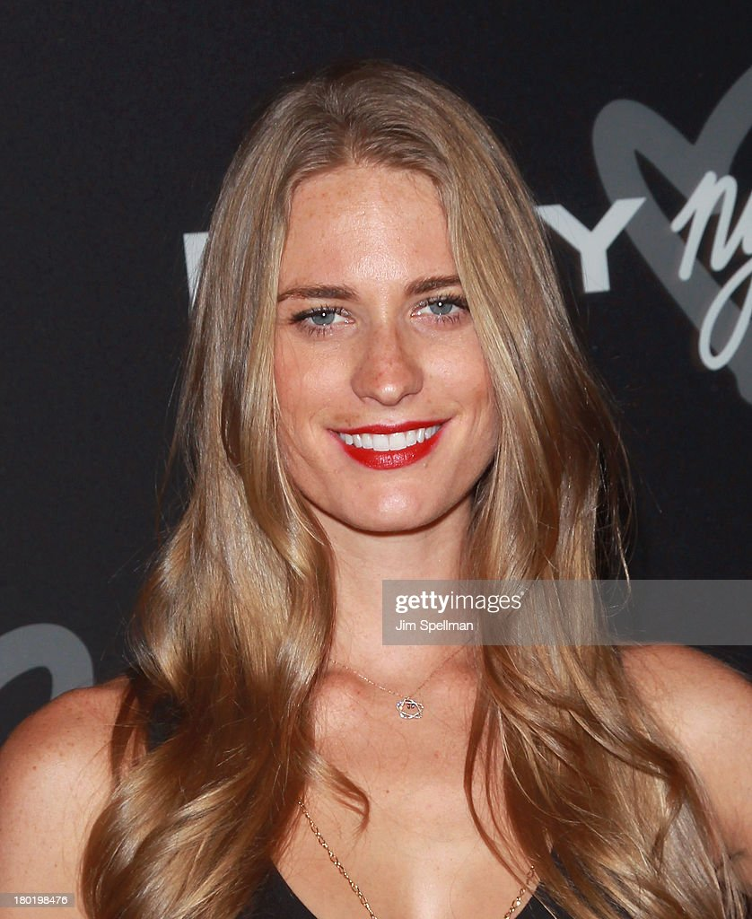 Model <a gi-track='captionPersonalityLinkClicked' href=/galleries/search?phrase=Julie+Henderson&family=editorial&specificpeople=4154524 ng-click='$event.stopPropagation()'>Julie Henderson</a> attends the #DKNY25 Birthday Bash at 23 Wall Street on September 9, 2013 in New York City.