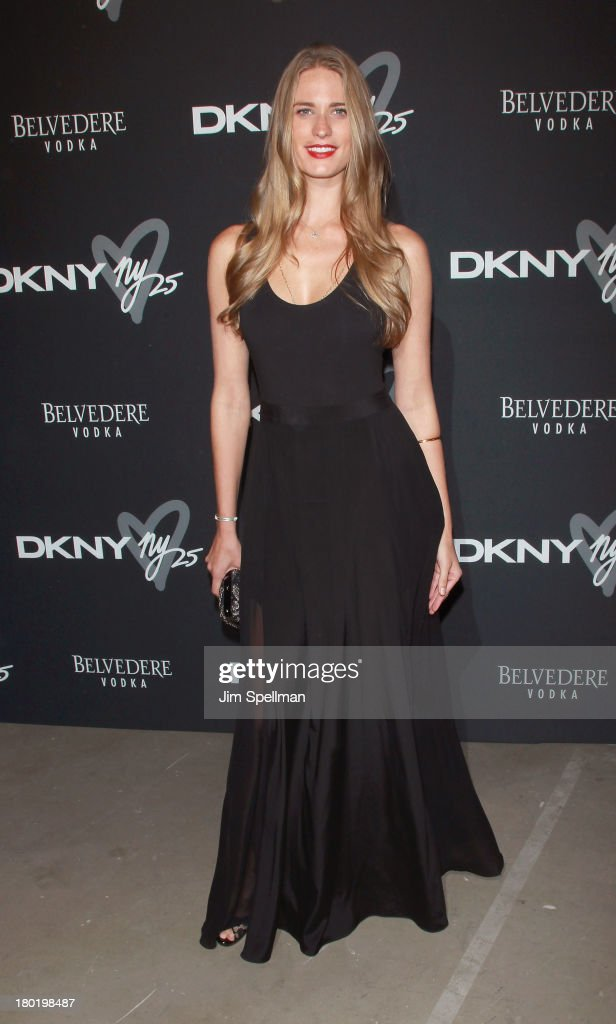 Model Julie Henderson attends the #DKNY25 Birthday Bash at 23 Wall Street on September 9, 2013 in New York City.