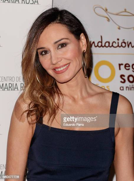 Model Juncal Rivero attends the 'Aladina Foundation' photocall at Lope de Vega theatre on May 8 2017 in Madrid Spain