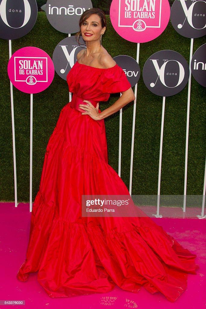 Model Juncal Rivero attends the 'Yo Dona' international awards at La Quinta de la Munoza on June 27, 2016 in Madrid, Spain.