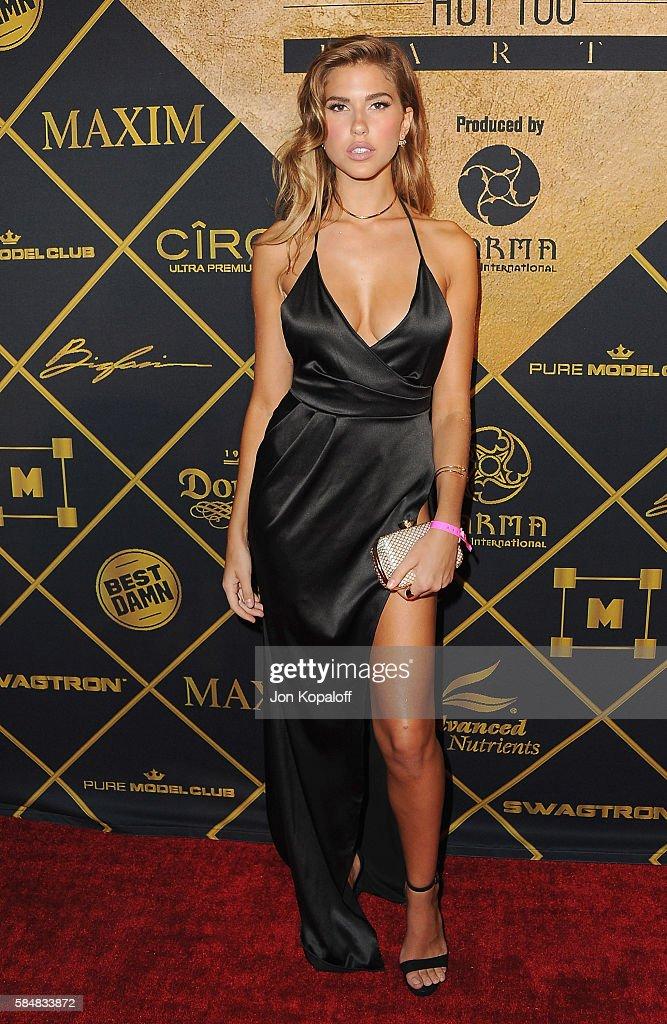 Model Kara Del Toro arrives at the Maxim Hot 100 Party at the Hollywood Palladium on July 30, 2016 in Los Angeles, California.