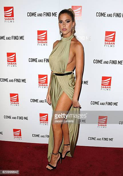 Model Kara Del Toro attends the premiere of 'Come and Find Me' at Pacific Theatre at The Grove on November 3 2016 in Los Angeles California