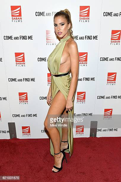Model Kara Del Toro attends the premiere of Saban Films' 'Come And Find Me' at Pacific Theatre at The Grove on November 3 2016 in Los Angeles...