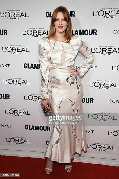 Model Karen Elson attends the Glamour 2014 Women Of The Year Awards at Carnegie Hall on November 10 2014 in New York City