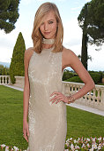Model Karlie Kloss arrives at amfAR's 22nd Cinema Against AIDS Gala Presented By Bold Films And Harry Winston at Hotel du CapEdenRoc on May 21 2015...