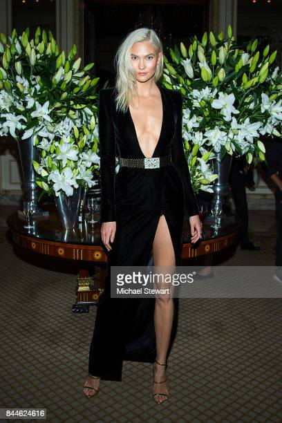 Model Karlie Kloss attends 2017 Harper's Bazaar Icons at The Plaza Hotel on September 8 2017 in New York City
