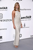 Model Karlie Kloss attends amfAR's 22nd Cinema Against AIDS Gala Presented By Bold Films And Harry Winston at Hotel du CapEdenRoc on May 21 2015 in...