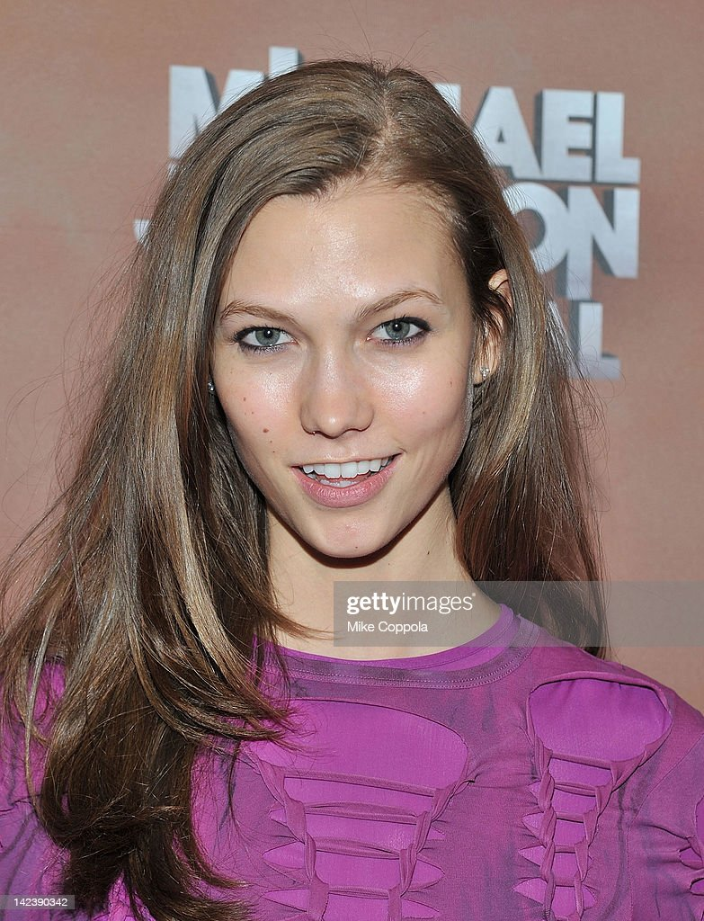 Model Karlie Kloss attends Michael Jackson THE IMMORTAL World Tour show by Cirque du Soleil at Madison Square Garden on April 3, 2012 in New York City.
