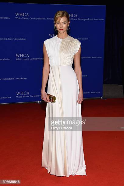 Model Karlie Kloss attends the 102nd White House Correspondents' Association Dinner on April 30 2016 in Washington DC
