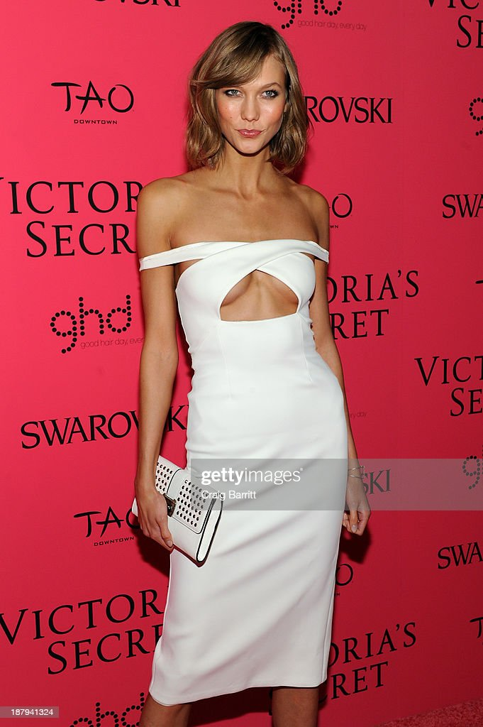 Model Karlie Kloss attends the 2013 Victoria's Secret Fashion after party at TAO Downtown on November 13, 2013 in New York City.