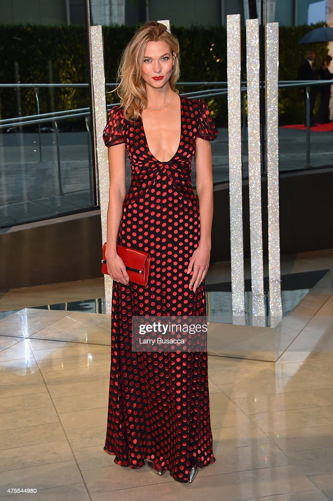 Model Karlie Kloss attends the 2015 CFDA Fashion Awards at Alice Tully Hall at Lincoln Center on June 1 2015 in New York City