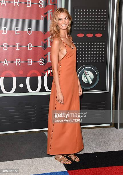 Model Karlie Kloss attends the 2015 MTV Video Music Awards at Microsoft Theater on August 30 2015 in Los Angeles California