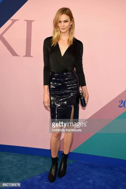 Model Karlie Kloss attends the 2017 CFDA Fashion Awards at Hammerstein Ballroom on June 5 2017 in New York City