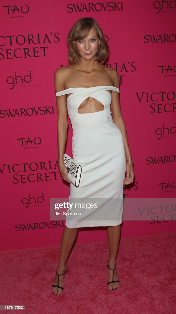 Model Karlie Kloss attends the after party for the 2013 Victoria's Secret Fashion Show at TAO Downtown on November 13, 2013 in New York City.