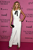 Model Karlie Kloss attends the after party for the annual Victoria's Secret fashion show at Earls Court on December 2 2014 in London England