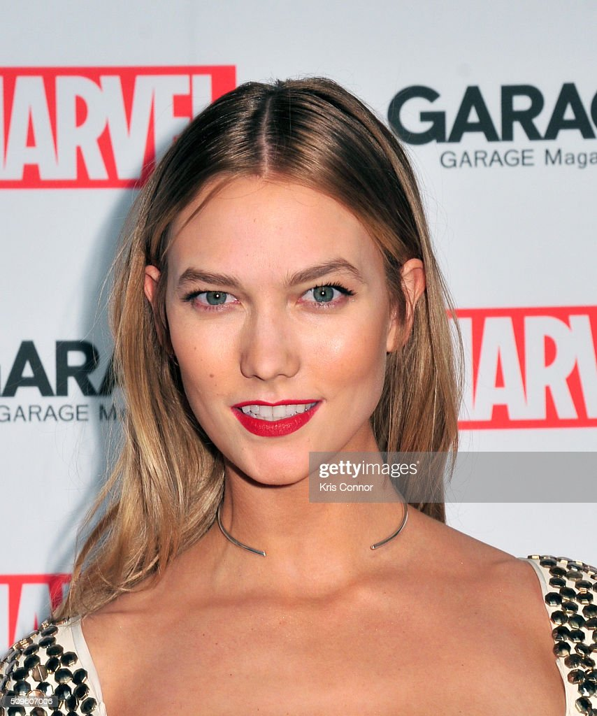 Model <a gi-track='captionPersonalityLinkClicked' href=/galleries/search?phrase=Karlie+Kloss&family=editorial&specificpeople=5555876 ng-click='$event.stopPropagation()'>Karlie Kloss</a> attends the Marvel and Garage Magazine New York Fashion Week Event on February 11, 2016 in New York City.