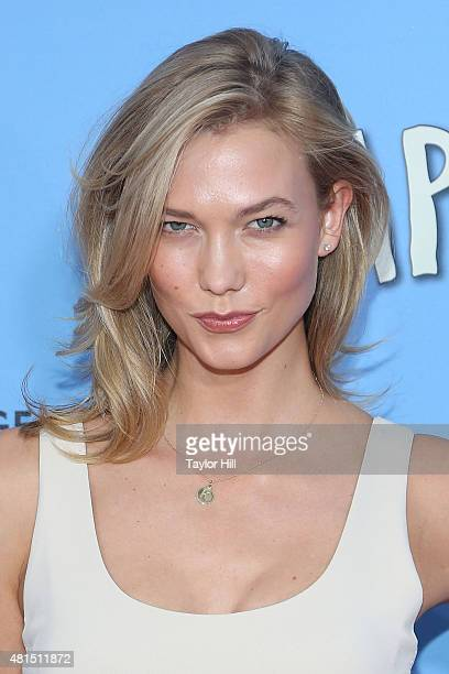 Model Karlie Kloss attends the New York City premiere of 'Paper Towns' at AMC Loews Lincoln Square on July 21 2015 in New York City